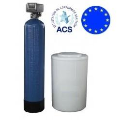 Test de l'Adoucisseur d'eau FLECK Bi bloc 30 litres de O'Fresh